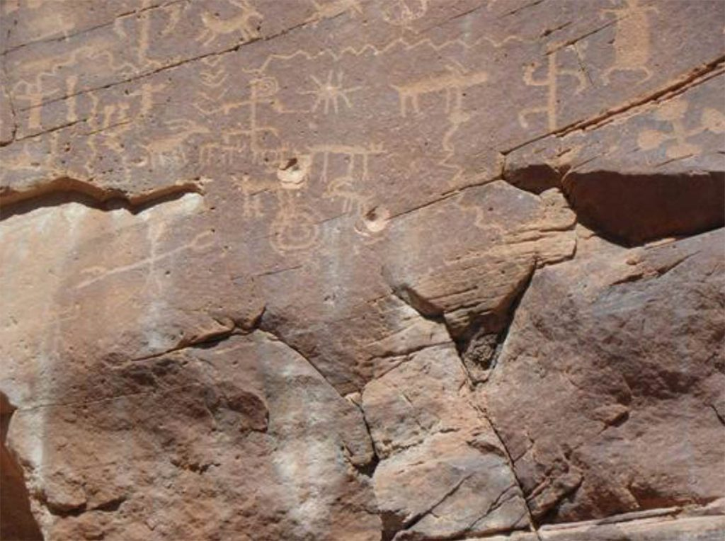 Ancient Gold Butte Petroglyphs